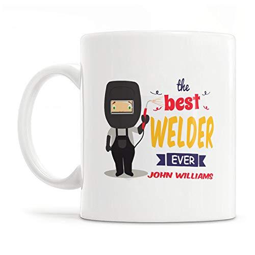 Custom Welder Mug, Personalized Welder Gift, Gift Ideas for Welders, Graduation Gifts for Welders, Welding Gift, Welding Mug - 11OZ Coffee Mug