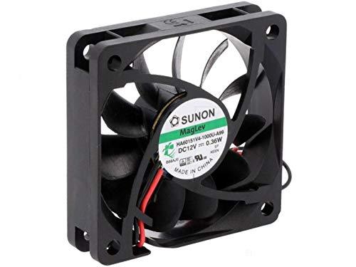 Ventilador Sunon 60x 60x 15mm ha60151V4–999DC 12V 2500U/min 15dba con dBA)