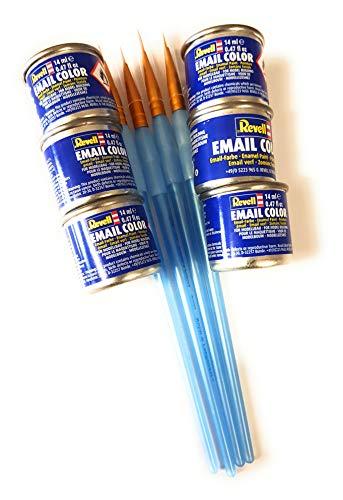 6 Revell 14ml Email Farben für Modellbau - Sie können die Farben wählen