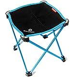 TRIWONDER Tragbare Camping Hocker, Outdoor Klappstuhl Slacker Stuhl für Camping Backpacking Wandern...