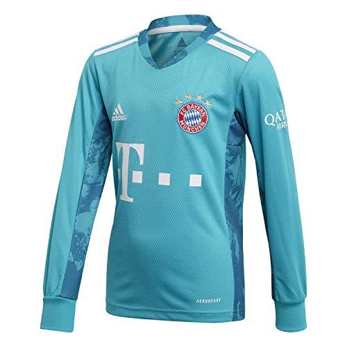 adidas Kinder 20/21 FC Bayern Goalkeeper Jersey Torwarttrikot, Labgrn, 164