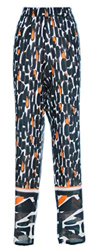 LUISA VIOLA Mara Venier Pantalone Donna Fantasia Taglie comode (Elena Miro) 41