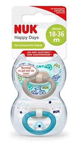 NUK Sports Cup mit extragroßem Volumen von 450 ml mit Push-Pull-Tülle, ab 36 Monaten, BPA frei,