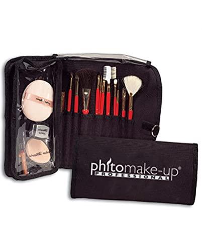Porta Pennelli Trucco Make Up Medio Completo Phitomake-Up