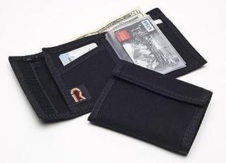 Rainbow of California Original Bifold Nylon Hook & Loop Wallet. Made in USA