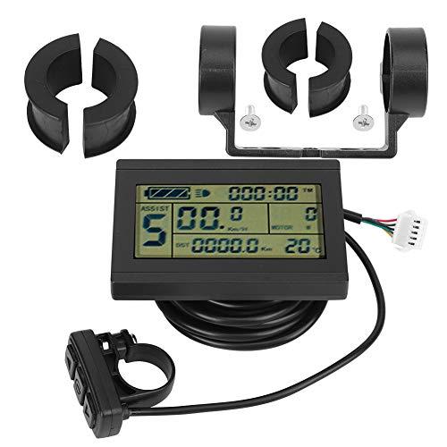 Taidda- Elektrisches Fahrrad-LCD-Instrument, professionelles E-Bike-Umrüstzubehör für die Herstellung, 24 V-36 V-48 V mit USB-Schnittstelle für den Radsport-S-M-Anschluss