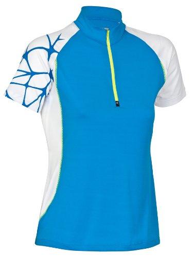 Rono Perform superfast Polo pour Homme à col Montant zippé pour Femme XS Bleu - Bleu