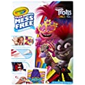 Crayola Color Wonder Trolls Coloring Pages & Markers