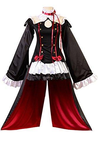 Fuman Seraph of The End Vampires Krul Tepes Uniform Cosplay Kostüm M