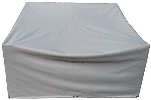 GRASEKAMP Qualität seit 1972 Schutzhülle zu Lanzarote Lounge 2er Sofa PVC Gewebe