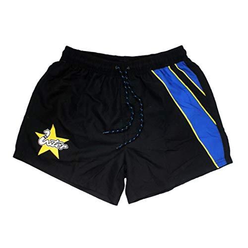 costume mare uomo inter Costume Uomo Boxer Pantaloncino in Nylon Inter Prodotto Ufficiale Nuova Collezione Art. in19005 (Nero