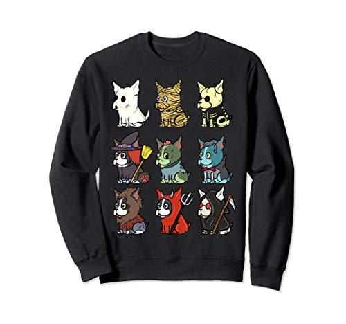 Boston Terrier Gruselige Kostüme Halloween Geschenk Sweatshirt