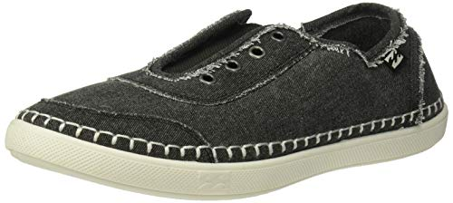 Billabong Cruiser Slip-On Canvas Shoe Sneaker, Washed Black, 9 Medium US