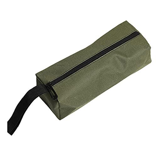 Caja de Herramientas Bolsa de almacenamiento de herramientas multifunción, bolsas de mano con cremallera Kit de herramientas portátil Piezas de hardware metálicas Partes Organizador para el hogar Kit