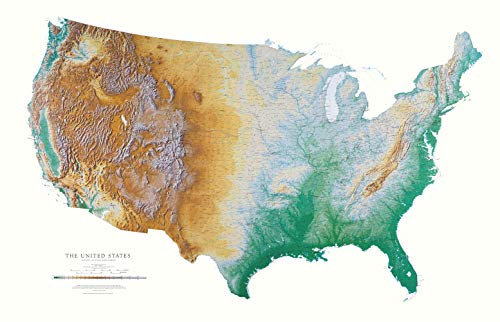 united states topographic map - 1