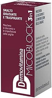 Dermovitamina Micoblock Smalto Idratante E Traspirante Bordeaux - 5 Ml