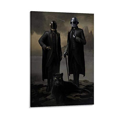 GIUU Poster mural Daft Punk Wallpaper - Motif : Daft Punk - 60 x 90 cm