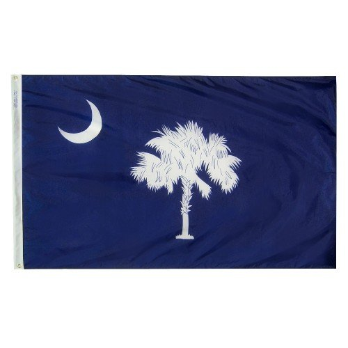 All Star Flags 3x5' South Carolina Heavy Weight Nylon Flag from