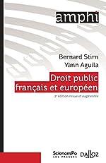 Droit public français et européen de Bernard Stirn