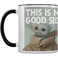 Star Wars: The Mandalorian MGC25850 - Taza de cerámica (315 ml), diseño con texto en inglés