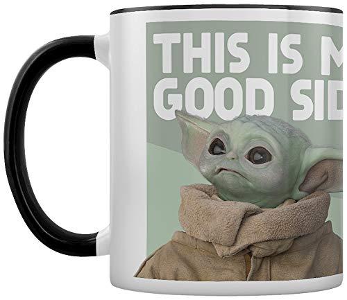 Star Wars: The Mandalorian (Good Side) Black Inner Coloured Mug