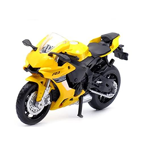 MHDTN El Maquetas Coche Motocross Fantastico 1:18 para Yamaha YZF-R1 Simulación Aleación Fundición A Presión Colección Modelos Motocicleta Regalo para Niños Coche Juguete Regalos Juegos Mas Vendidos