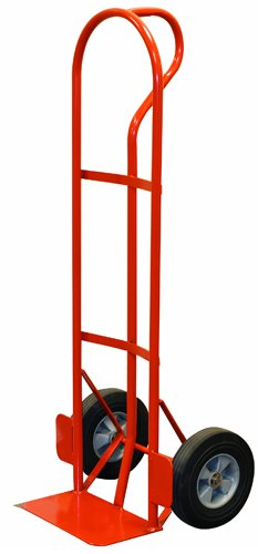 Milwaukee Hand Trucks 47866 P-Handle Truck with 10-Inch Solid Puncture Proof Tires and Wheel Guards