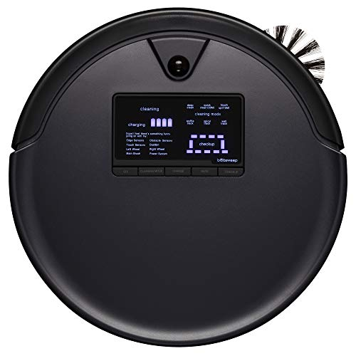 bObsweep Pet Hair Plus Robotic Vacuum Cleaner and Mop, Midnight Dining Features Kitchen Robotic Vacuums