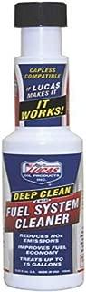 Lucas Oil 10669 Deep Clean Fuel System Cleaner, 5.25 Fluid_Ounces