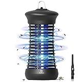 BACKTURE Zanzariera Elettrica, 6W UV Lampada Antizanzare, Mosquito Killer da Interni, Repellente...