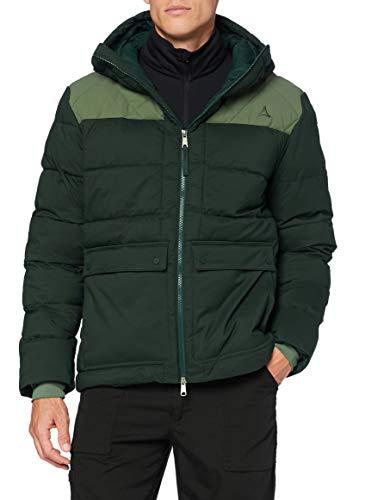 Schöffel Ins. Jacket Boston M Chaquetas, Hombre, Plateado, 50