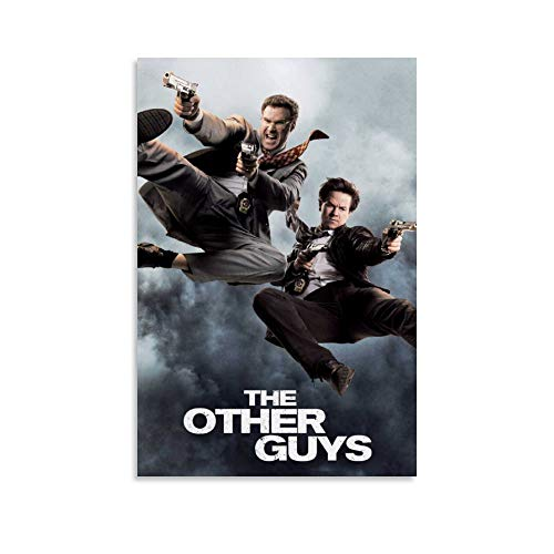 The Other Guys Comedy Movie Canvas Art Poster and Wall Art Picture Print Modern Family Bedroom Decor Posters 12×18inch(30×45cm)