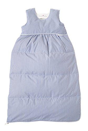 """Tavolinchen Babyschlafsack Daunenschlafsack """"Visconte Streifen"""" Kinderschlafsack – marine – Gr.110"""
