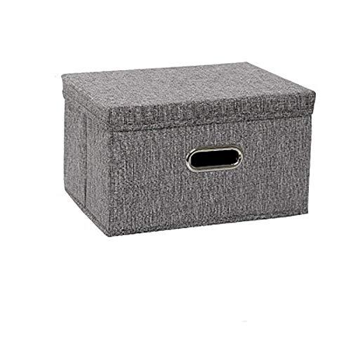 XIXIAO Maleta de gran capacidad plegable caja de almacenamiento (pequeña) cesta decorativa para dormitorio de guardería