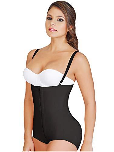 Salome 0414 Tummy Control Shapewear Fajas Colombianas Levanta Pompis Black XS