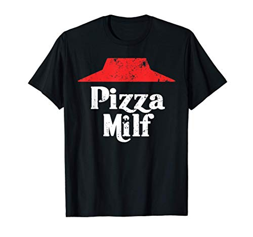 Pizza Hot Mom Hut Funny Carbo Load Deep Dish T-Shirt