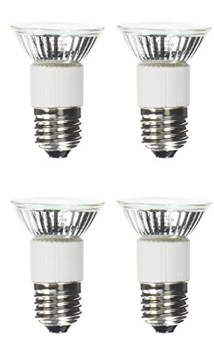 4-Bulbs Anyray Compatible Replacement Bulb for 62351 and Hoods 92348 75 Watt Standard 75W E27