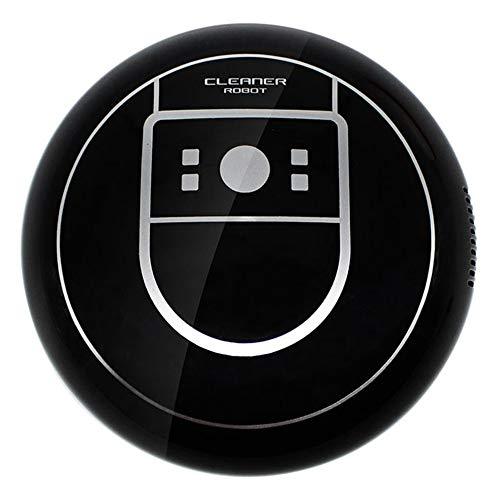 Ea-home Robot nettoyeur automatique microfibre Smart Robot vadrouille coins de sol nettoyeur de poussière balayeuse aspirateur Usb charge