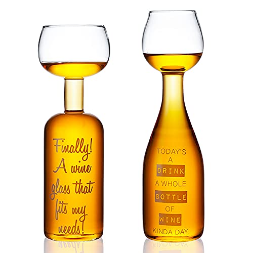 NZQLJT Decantador para Whisky, Decantador De Vidrio para Licores con Forma De Copa De Borosilicato, Juegos De Vidrio para Whisky, 2pcs