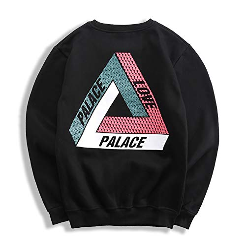 Los Hombres triángulo Manga Larga Pullover Palace
