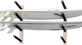 Surfboard, Wakeboard, Kiteboard Wall Rack Mount -- Holds 4 Boards
