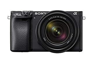 Sony Alpha 6400   APS-C Mirrorless Camera with Sony 18-135 mm f/3.5-5.6 Zoom Lens ( Fast 0.02s Autofocus 24.2 Mp, 4K Movie Recording, Flip Screen for Vlogging ) (B07MW8GTYD)   Amazon price tracker / tracking, Amazon price history charts, Amazon price watches, Amazon price drop alerts
