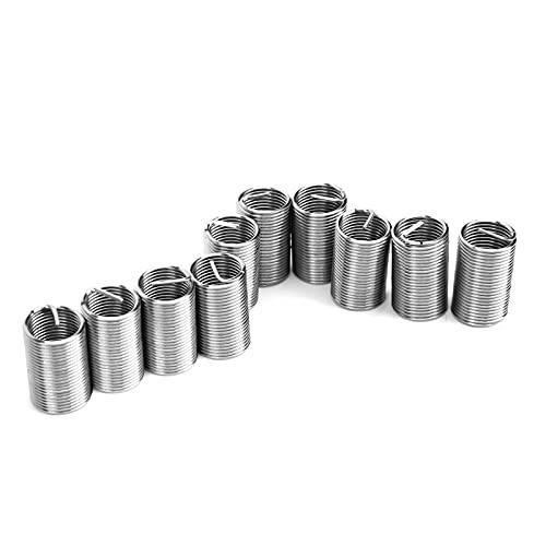 Inserto filettato, manicotto di protezione filettatura boccola vite multifunzione Resistenza all'usura per rame per lega di alluminio