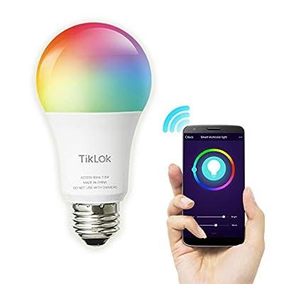 TikLok Multicolored Smart Light Bulb