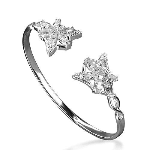 """Kristall-Armband, Nachbildung des Armbands von Arwen Evenstar aus """"Herr der Ringe"""""""