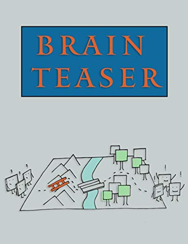 Brain Teaser: Maze Brain Teasers Paper Blank Notebook Journal 8.5x11' 150 Pages | This Book Is Inspired By Mind Sport