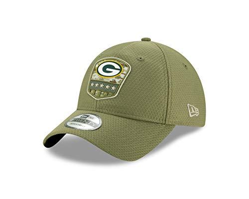 New Era NFL 2019 Salute to Service Adjustable 9twenty 920 Hat Cap: OSFM (Green Bay Packers)