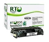 Renewable Toner Compatible MICR Toner Cartridge Replacement for HP 80A CF280A Laserjet Pro M401a M401dn M401dne M401dw M401n M425dn M425dw MFP