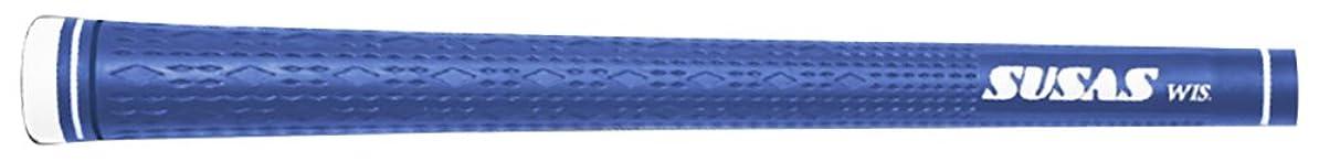 男性マットスラックSUSAS(スーサス) ゴルフグリップ  SUSAS wis ダークブルー バックライン有 芹澤プロ監修モデル SUSASwis-L-DB-P