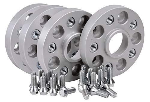 Hofmann Spurverbreiterung Aluminium 4 Stück (24+30 mm / 48+60 mm) inkl. TÜV-Teilegutachten~